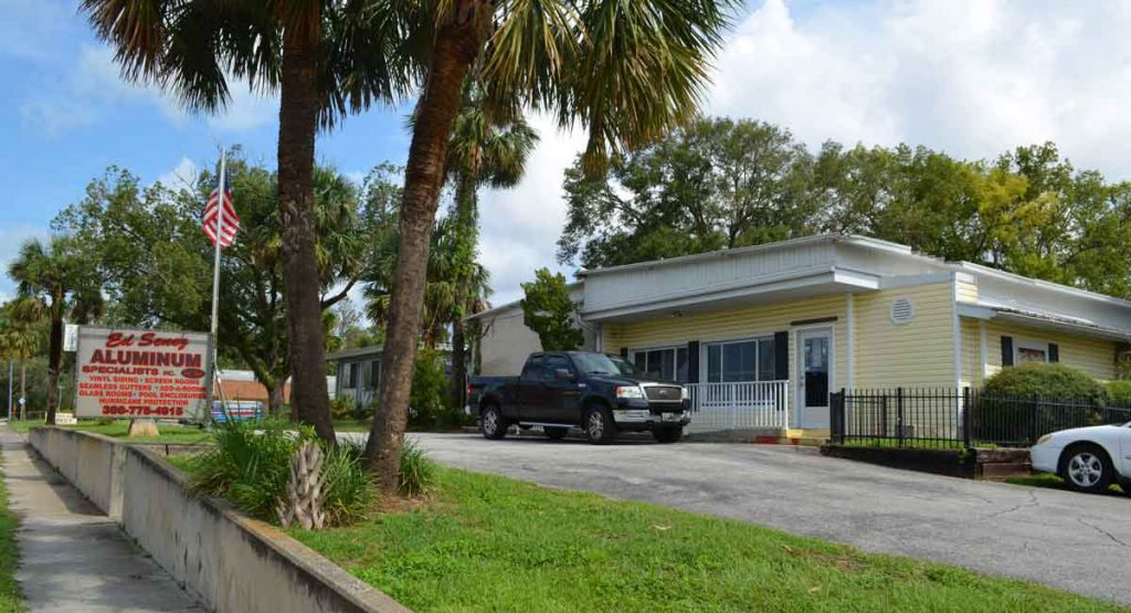 Ed Senez Aluminum Specialists LLC office in Orange City Florida