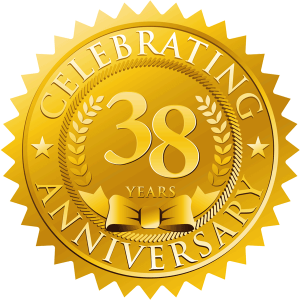 Ed Senez Aluminum Specialists celebrating 38 Years in Business.